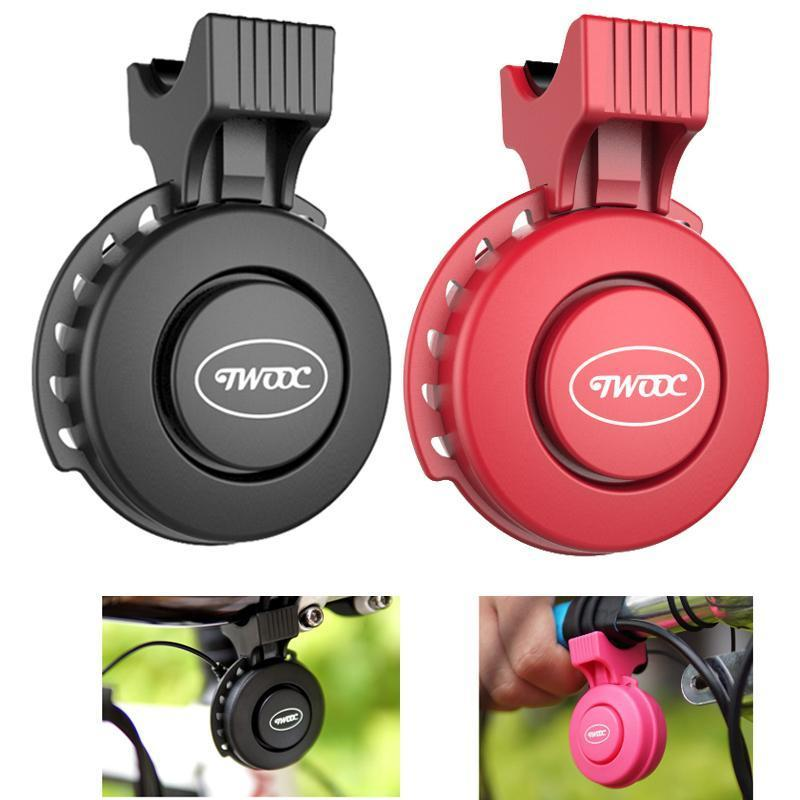 RECHARGEABLE WATERPROOF ELECTRONIC BICYCLE HORN - Tazooly