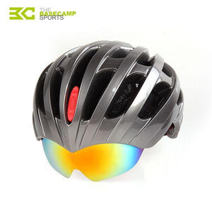 Professional Bicycle Riding Helmet With 3 Goggles - Tazooly