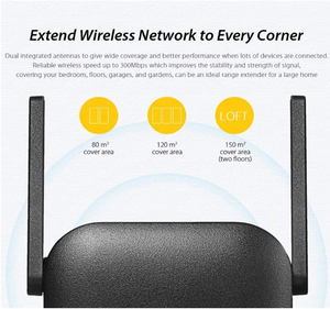 WiFi Extender Pro™ WiFi Repeater Booster Amplifier Extender 300Mbps Range - Tazooly