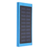 50000mAh 2.4A Solar Power Bank Portable Dual USB External Battery Charger Flashlight Camping Travel - Black - Tazooly