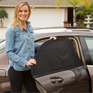 Slip-On Car Window Sun Shades - Tazooly