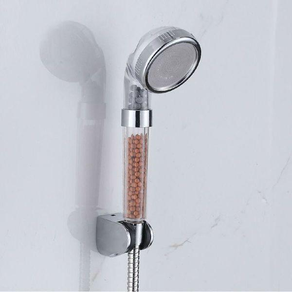 High Pressure Handheld Shower Head with Water Saving Ionic Filter - Tazooly