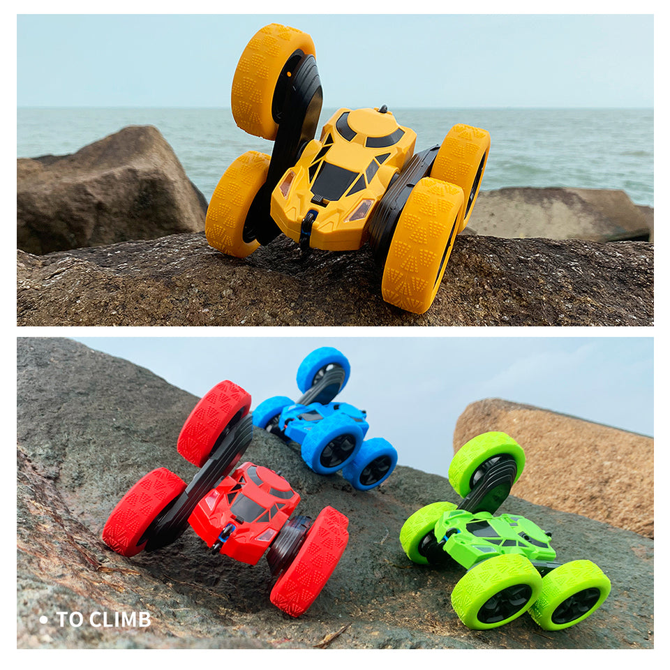 Remote Control Car - High-Impact RC Stunt Car, 360-Degree Flip, High-Quality, Designed For Racing