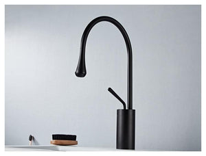 Raffeto - Brass Crane Bathroom Faucet