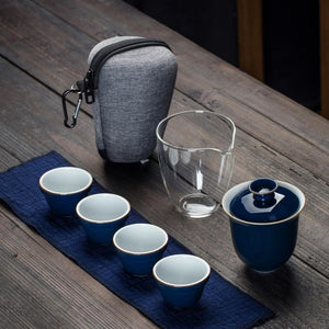 Travel Bag Chinese Kung Fu Teaset
