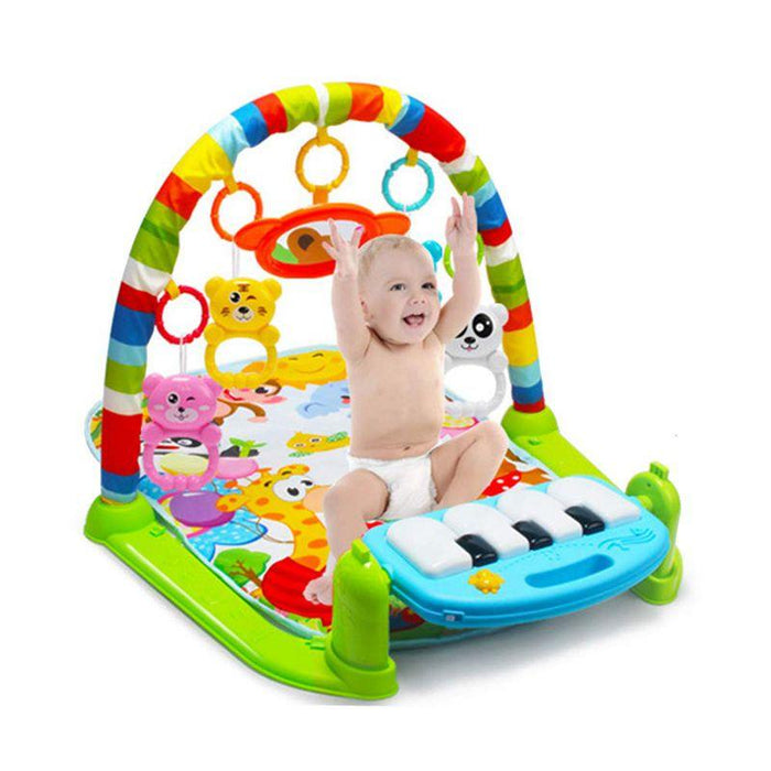Baby Play Mat With Piano Keyboard and Educational Rack Toys
