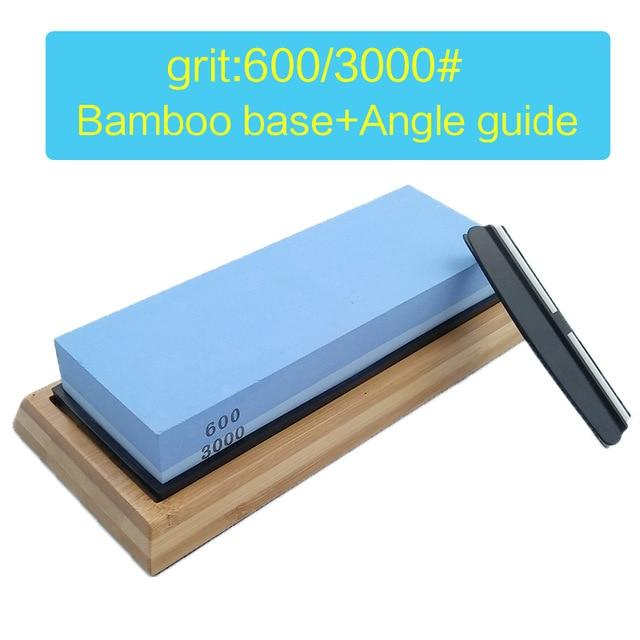 600/3000 Grit Double-sided Sharpening Stone, Kitchen Knife Sharpener