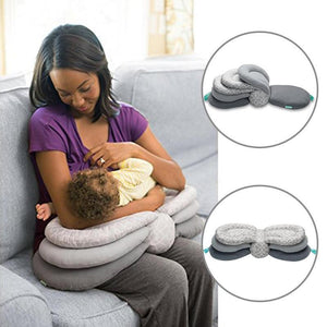 Adjustable Breastfeeding Baby Layered Pillow - Butterfly Nursing Pillow - Tazooly
