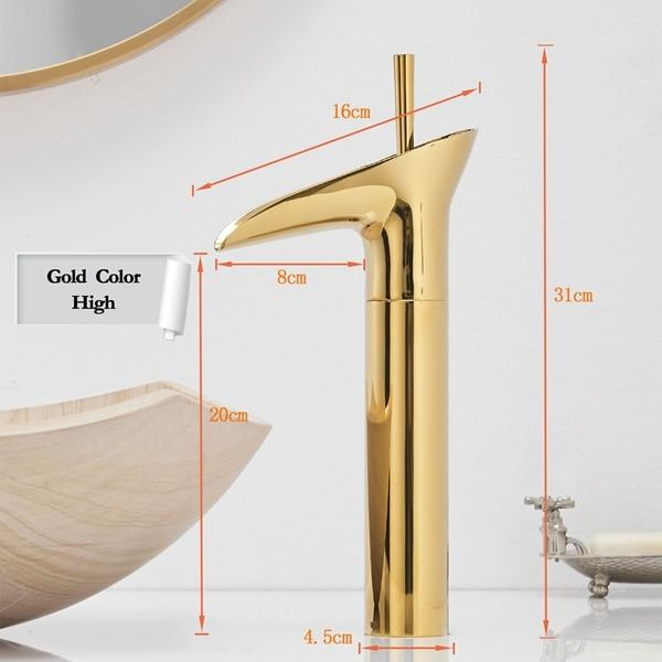 Clifton - Elegant Single Handle Waterfall Bathroom Faucet