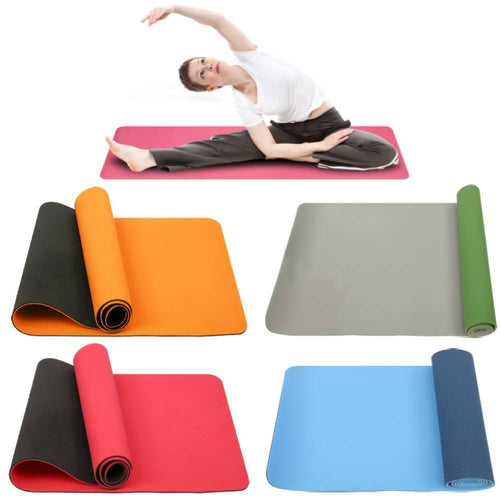 THICK 6mm  TPE Exercise Yoga Mat