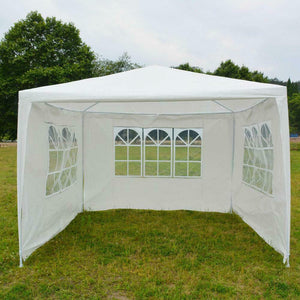 10'x10'Outdoor Heavy duty Canopy Party Wedding Tent Gazebo Pavilion Cater Events