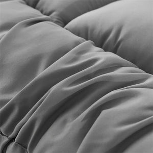 Mattress Pad Cover 72D Hollow Fiber Soft Bed Topper