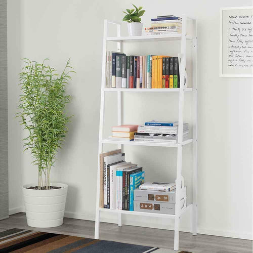 4-Tier Ladder Bookcase