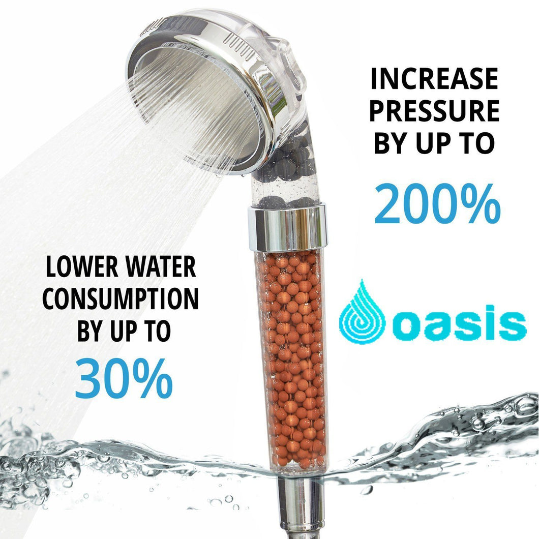 OASIS™ Ionic Shower Head - Tazooly