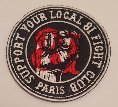 Patch Fight Club Support 81 Paris