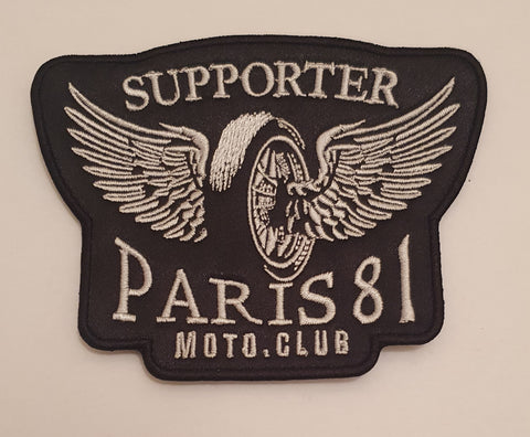 Patch wings & wheel Support 81 Paris