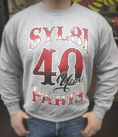 Sweat-shirt Support 81 PARIS 40eme ANNIVERSAIRE