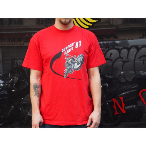 T-Shirt Red Bike
