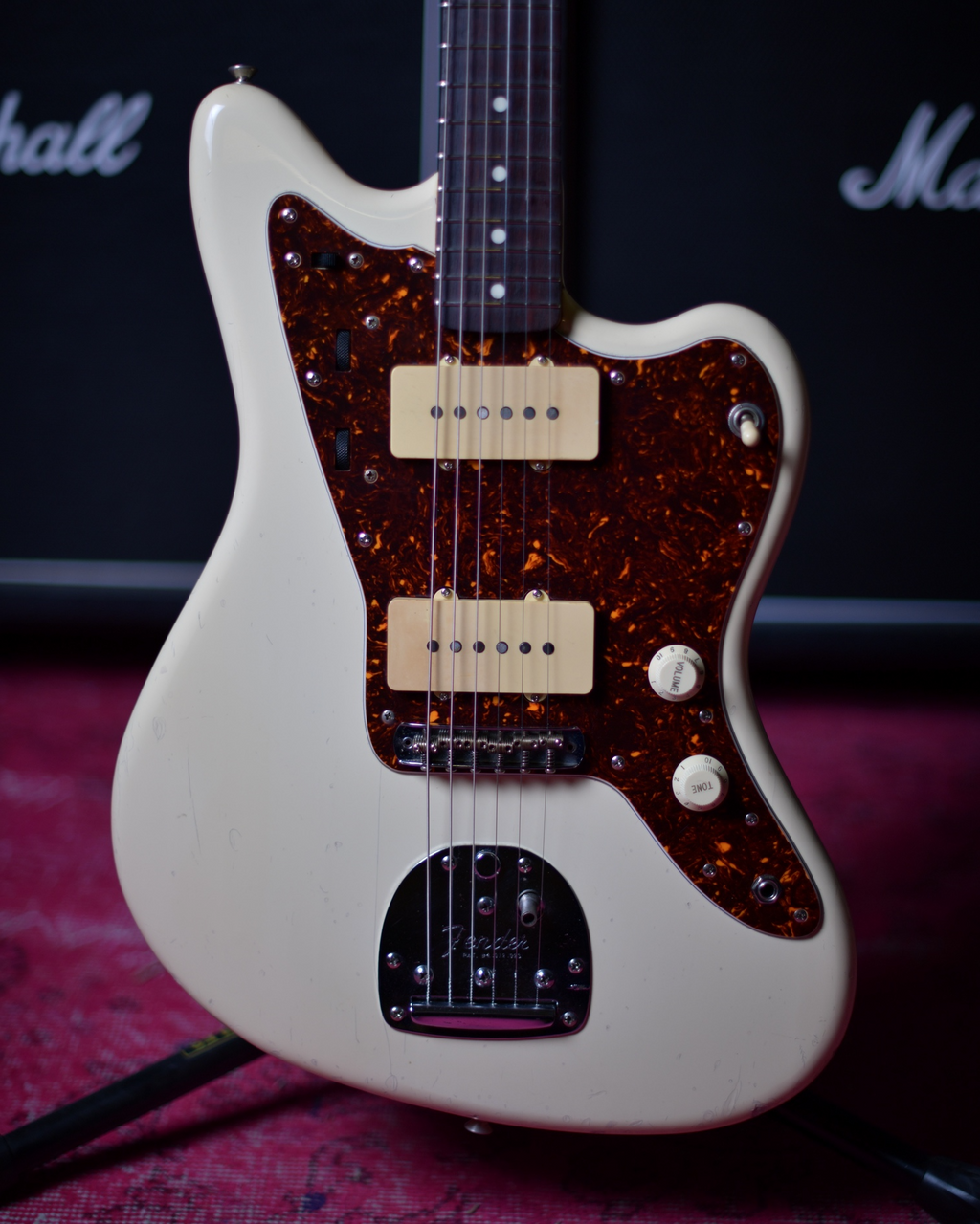 Fender Japan Jazzmaster Olympic White MIJ A Serial 1985 FUJIGEN RARE