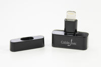 CableJive dockStubz Lightning<br/>Dock with your case on!