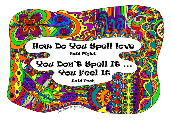 How to Spell Love