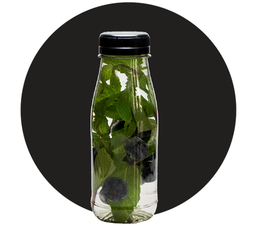 Blueberry-Mint Infused Water