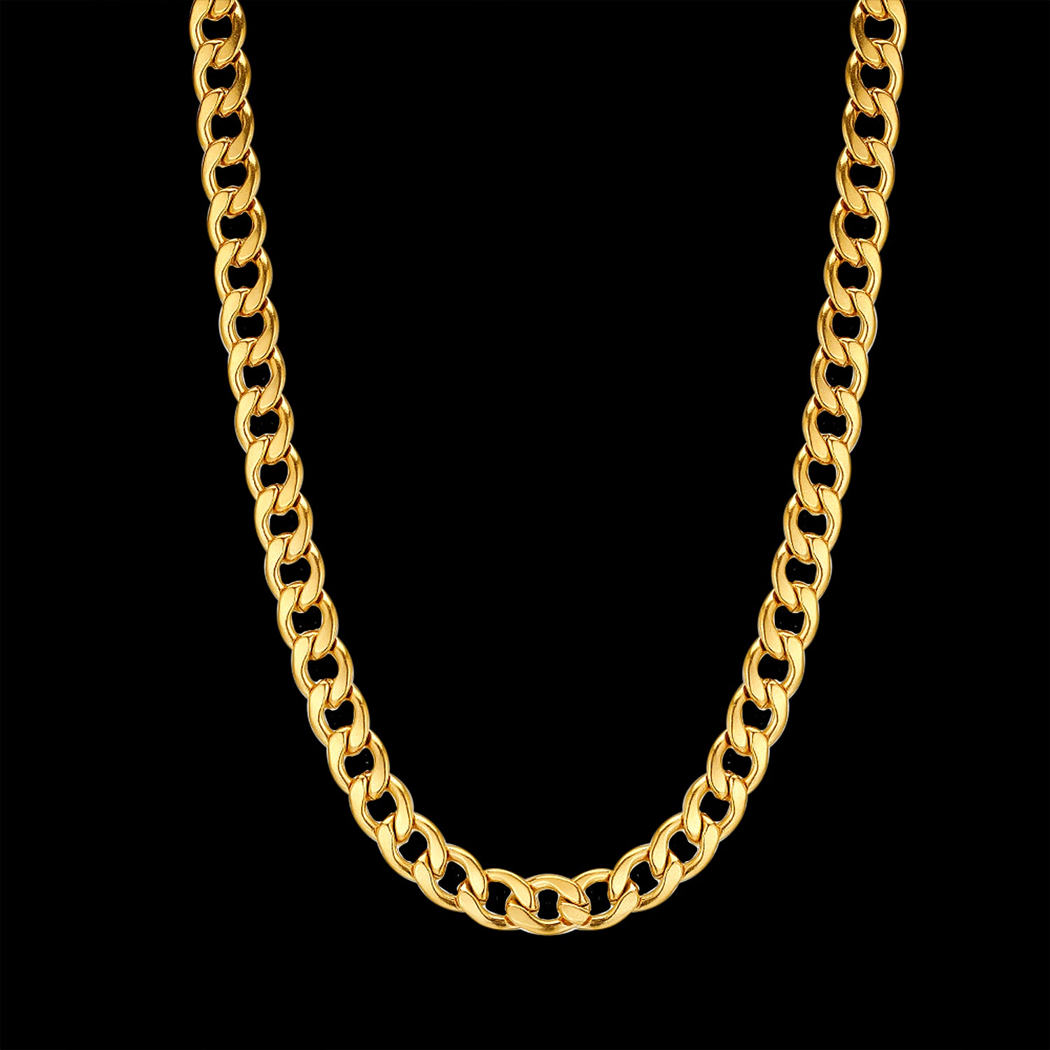 CS // 6mm Gold Cuban Necklace