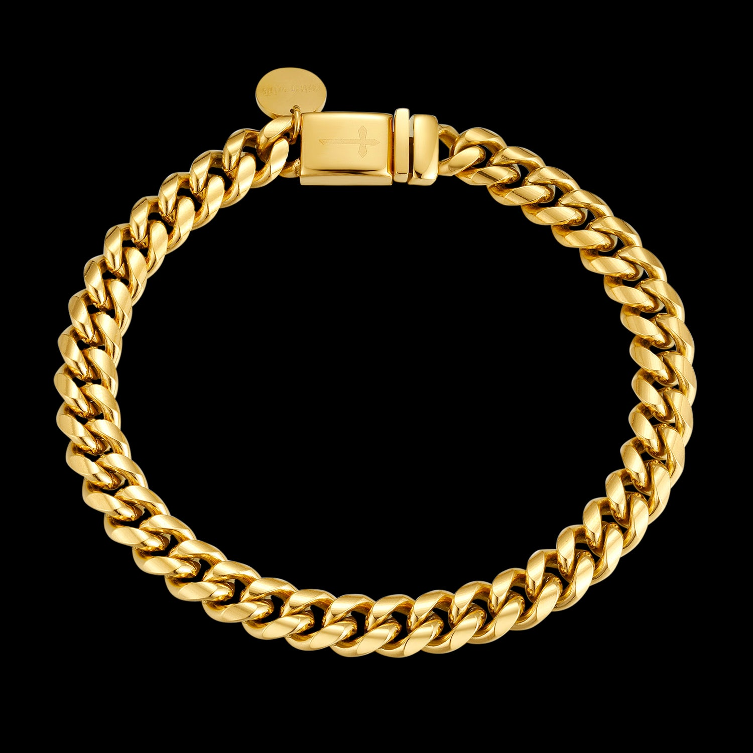 CS // 6mm Gold Cuban Bracelet