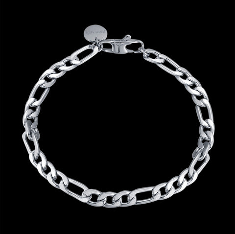 CS // 5mm Figaro Bracelet