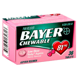 Bayer Low Dose 81 mg Aspirin Regimen - 400 Tablets