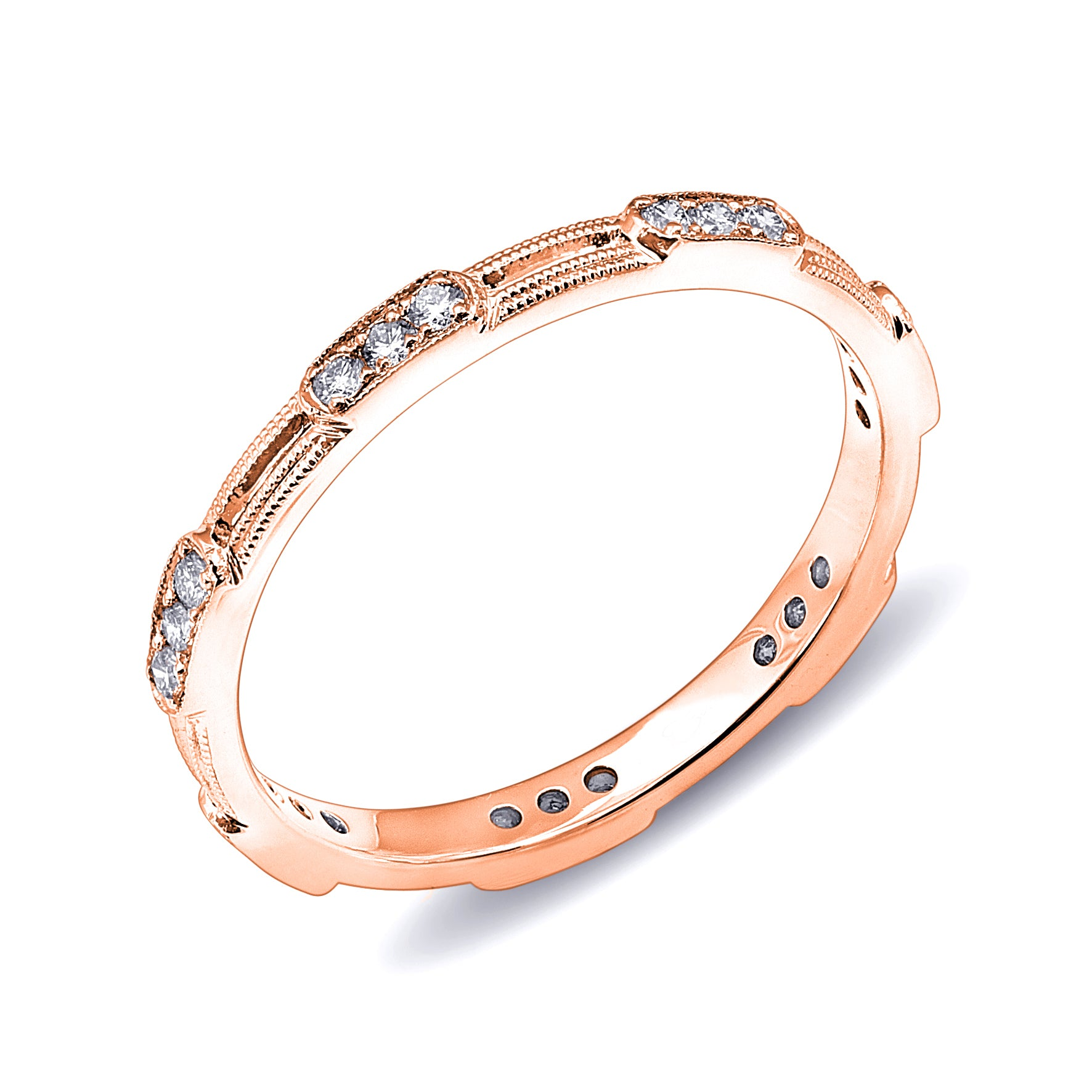 Diamond Station Stackable Band