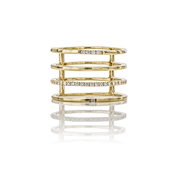The 4 Stack Ring