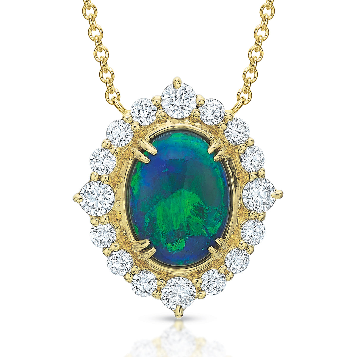 Sophia Lightning Ridge Opal Necklace