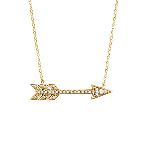 The Diamond Arrow Necklace