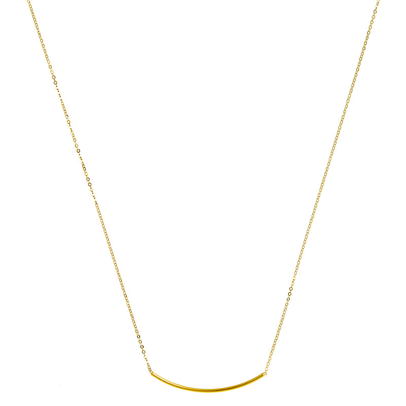 The Gold Bar Necklace