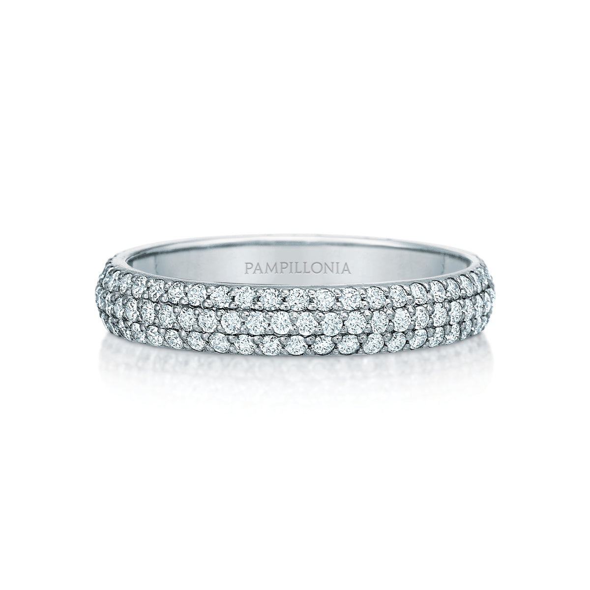 Kathleen Pave Eternity Band
