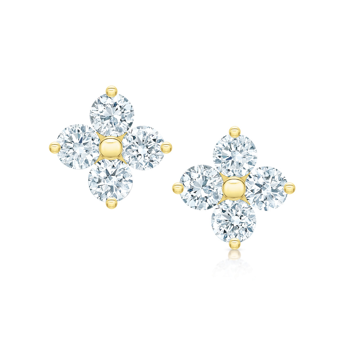 Grace Diamond Studs