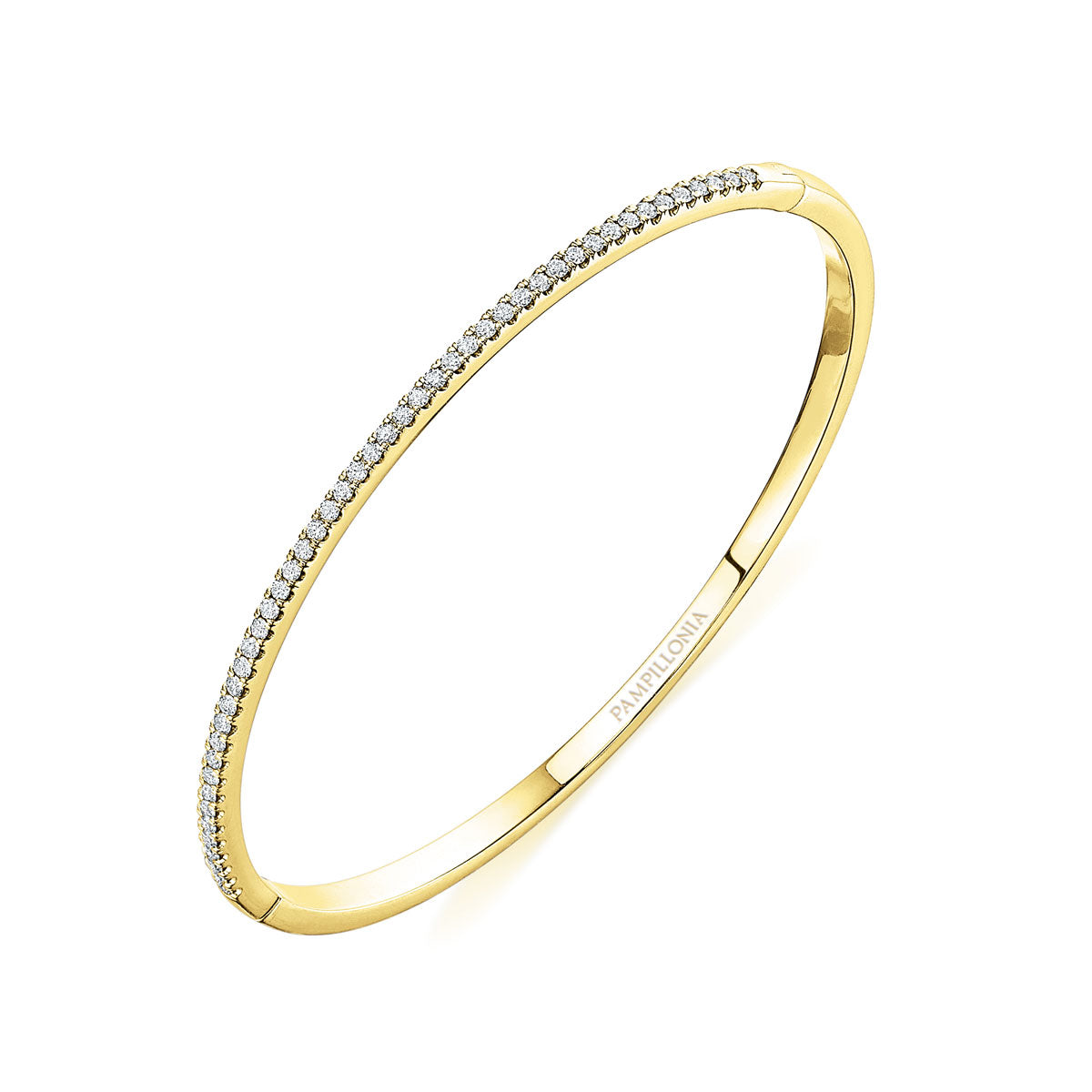 "6 - 6.5"" / .55CTS / 18K Yellow Gold"