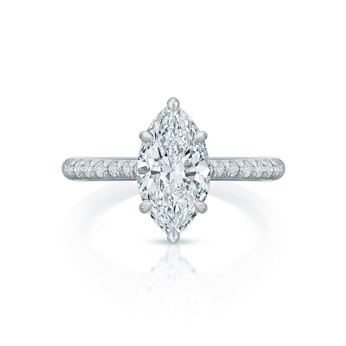 Lennon Marquise Solitaire