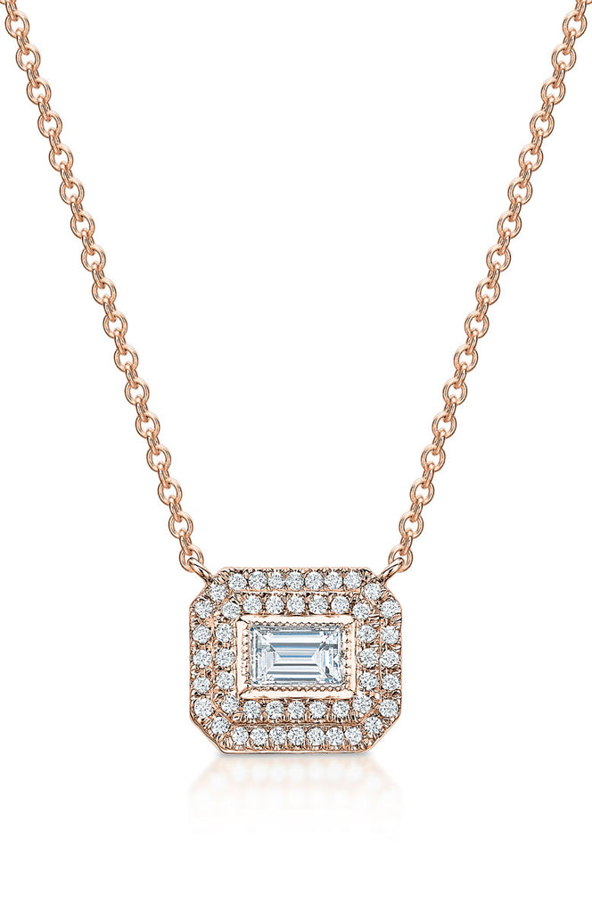 Gabriella Baguette Necklace
