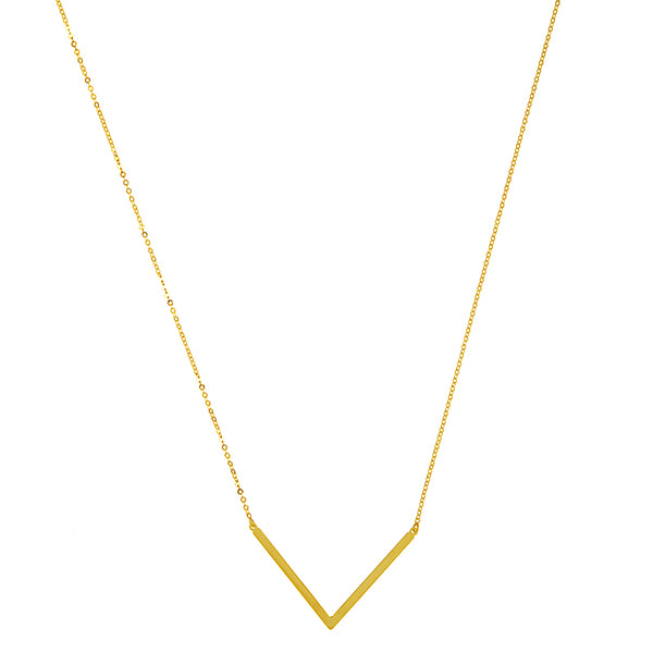 The Gold V Necklace