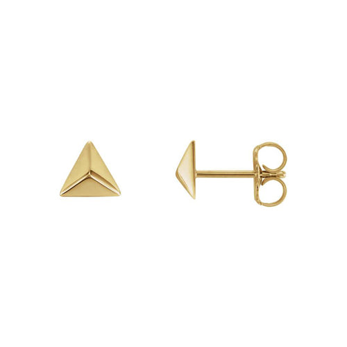 The Triangle Pyramid Stud