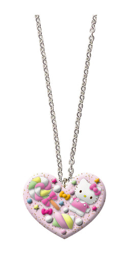 Hello kitty candy heart necklace 01349