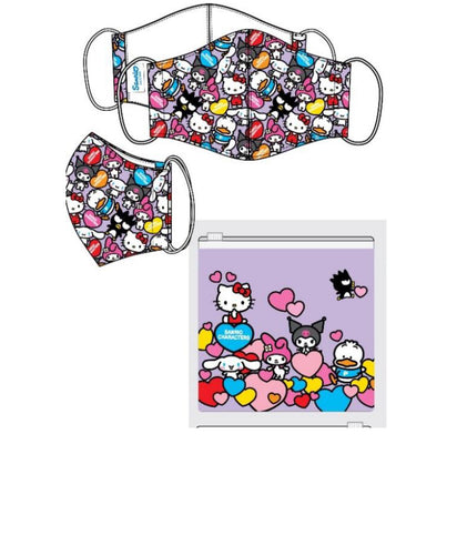 Sanrio characters adult size filter mask