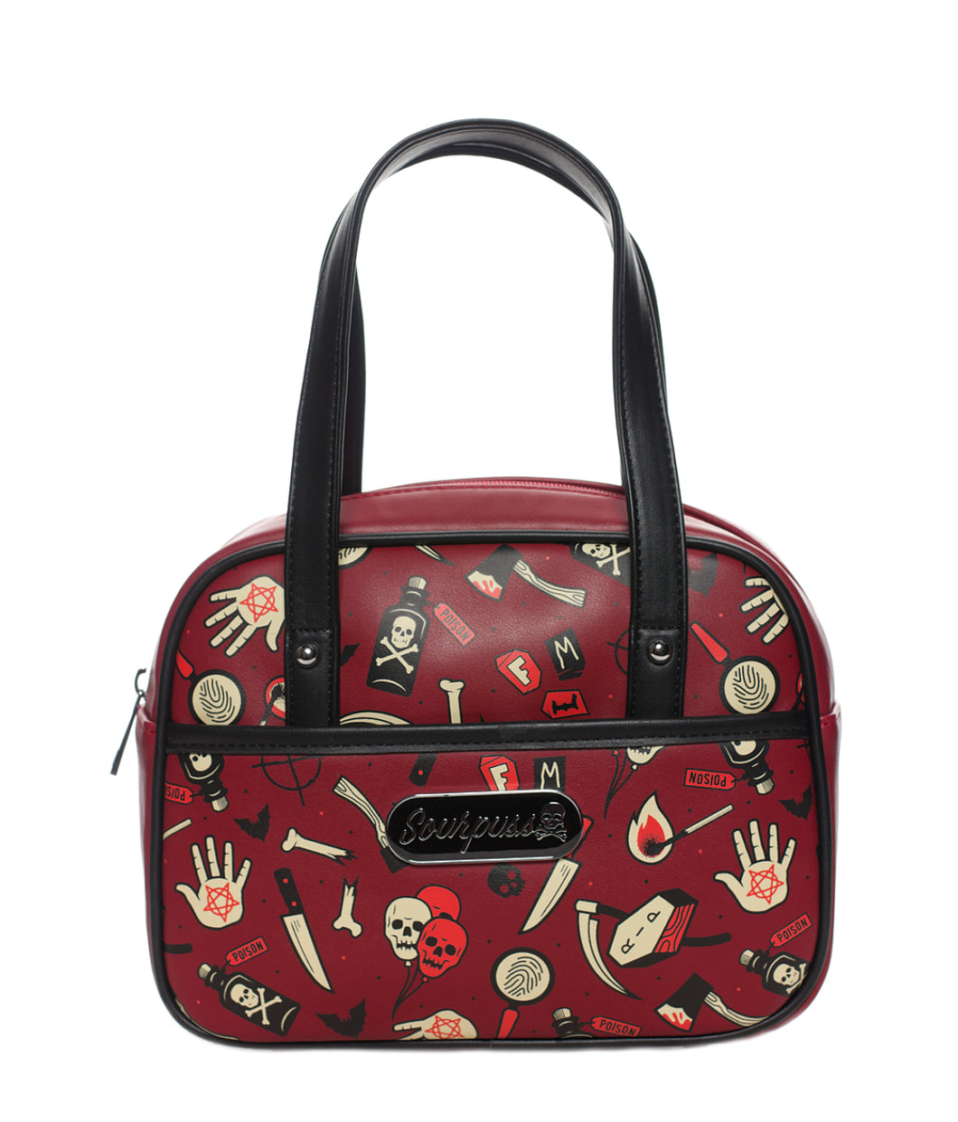 True Crime Mini Bowler Purse