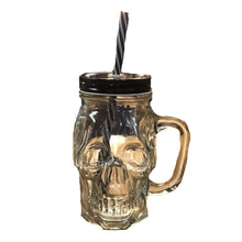 Load image into Gallery viewer, Skull Sipper Mug