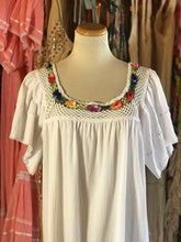 Load image into Gallery viewer, White Crochet Dress- Size 2XL LAST ONE!