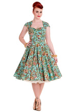 Load image into Gallery viewer, 50's Style Sasha Sugar Skull Dress- SIZE 4XL Last one!