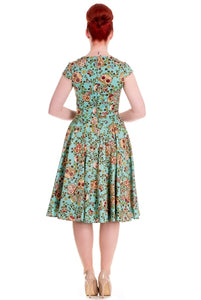 50's Style Sasha Sugar Skull Dress- SIZE 4XL Last one!