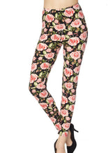 Load image into Gallery viewer, Blooming Blush Roses Leggings